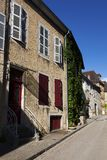 Architecture of Arbois, Jura department. Franche-Comté, France Royalty Free Stock Image