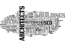 Architecture And Architects Jobs Word Cloud. ARCHITECTURE AND ARCHITECTS JOBS TEXT WORD CLOUD CONCEPT Royalty Free Stock Photo