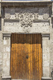 Architecture in Arequipa, Peru. Royalty Free Stock Image