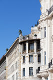 Architecture art nouveau by Otto Wagner, Vienna Royalty Free Stock Photo