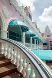 Architecture on Aruba Stock Image