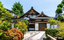 Architecture, Asian, Bushes Royalty Free Stock Photography
