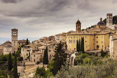 Architecture of Assisi Stock Photography