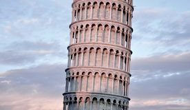 Architecture Attraction Italian Italy Landmark Leaning Tower of Pisa Royalty Free Stock Photography
