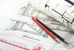 Architecture background Stock Image