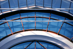 Architecture background. Abstract blue industry Stock Photos