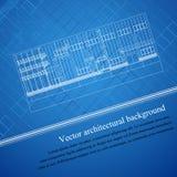 Architecture background blueprint Royalty Free Stock Image