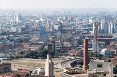 Architecture background city sao paulo. Brazil Stock Images