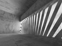 Architecture background. Dark empty concrete abstract room Stock Photo