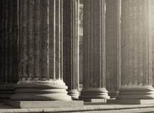 Colonnade of the Kazan Cathedral in Saint Petersburg Russia. Sepia processing Stock Image
