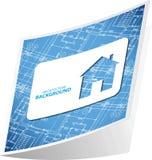 Architecture background sticker 3 Stock Photos