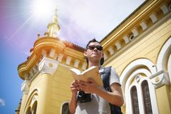 Architecture, Backpack, Backpacker stock photography