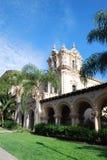 Architecture of Balboa Park. Photo of beautiful Hispanic architecture of Balboa Park, San Diego, California, USA Royalty Free Stock Image