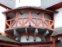 Architecture, Balcony, Building, Facade stock image