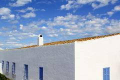 Architecture balearic islands Formentera houses Royalty Free Stock Photo