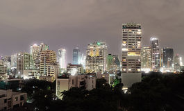 Architecture in Bangkok - buildings in the city Stock Photography