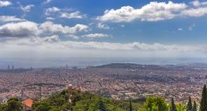 Architecture Barcelona skyline Cityscape Royalty Free Stock Image