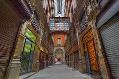 Architecture of Barcelona. Spain. Royalty Free Stock Photography