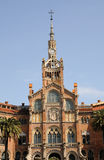 Architecture in Barcelona, Spain Royalty Free Stock Images