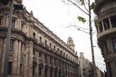Architecture of Barcelona, Spain. Traveling in Europe Royalty Free Stock Images