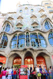 Architecture of Barcelona Royalty Free Stock Photos