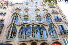 Architecture of Barcelona Royalty Free Stock Photography