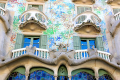 Architecture of Barcelona Royalty Free Stock Photo