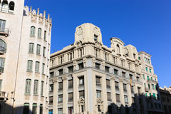 Architecture of Barcelona Stock Image