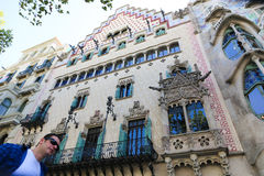 Architecture of Barcelona Royalty Free Stock Images