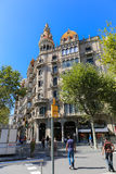 Architecture of Barcelona Stock Photography