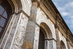 Architecture baroque Photographie stock libre de droits