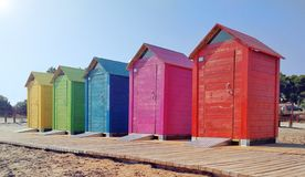 Architecture, Beach, Booth Stock Photography
