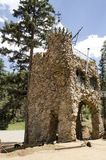 Architecture of Bishops Castle in Colorado. For nearly 60 years, The owner Jim Bishop has been constructing one of the most impressive monuments to perseverance Stock Photography