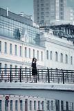 Architecture, Black, Dress Stock Image