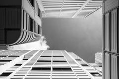 Architecture, Black-and-white, Building Royalty Free Stock Photo