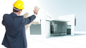 Architecture block Stock Image