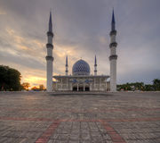 Architecture Blue Mosque Royalty Free Stock Photos