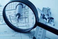 Architecture blueprint Royalty Free Stock Image