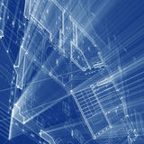 Architecture blueprint Royalty Free Stock Image