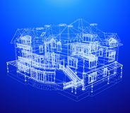Architecture Blueprint Of A House Stock Photos
