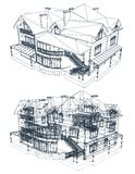 Architecture Blueprint Of A House. Vector stock photography
