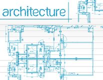 Architecture Blueprints Stock Images