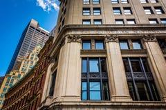 Architecture in Boston, Massachusetts. Stock Photo