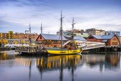 Boston in Massachusetts, USA Royalty Free Stock Photo