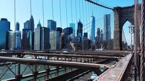 Architecture, Bridge, Brooklyn Stock Photo