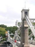 Architecture - Bridge and the victoria memorial hall Stock Images
