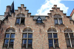 Architecture of Bruges, Belgium Royalty Free Stock Photos