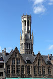 Architecture of Bruges, Belgium Royalty Free Stock Photo