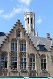 Architecture of Bruges, Belgium Stock Image