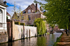 Architecture of Bruges city Royalty Free Stock Image